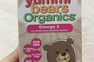 Yummi Bears Omega 3 Dietary Supplement