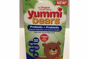 THE ORIGINAL GUMMY VITAMIN PROBIOTIC + PREBIOTIC YUMMI GUMMIES DIETARY SUPPLEMENT