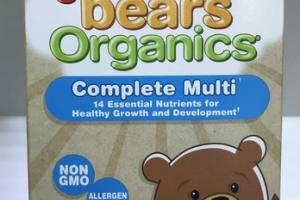 YUMMI BEARS ORGANICS COMPLETE MULTI DIETARY SUPPLEMENT