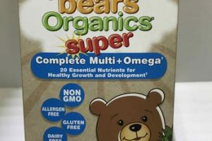 YUMMI BEARS SUPER COMPLETE MULTI+OMEGA DIETARY SUPPLEMENT