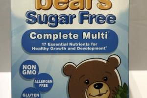 SUGAR FREE COMPLETE MULTI DIETARY SUPPLEMENT YUMMI GUMMIES