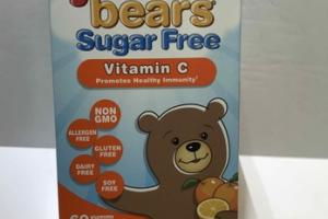 SUGAR FREE VITAMIN C PROMOTES HEALTHY IMMUNITY DIETARY SUPPLEMENT