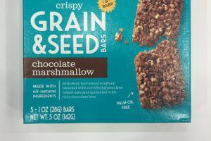 Crispy Grain & Seed Bars