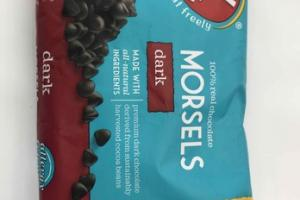 DARK 100% REAL CHOCOLATE MORSELS