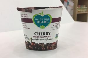 Cherry Dairy-free Yogurt