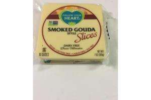 DAIRY FREE SMOKED GOUDA STYLE CHEESE SLICES