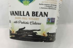 VANILLA BEAN DAIRY-FREE YOGURT WITH PROBIOTIC CULTURES