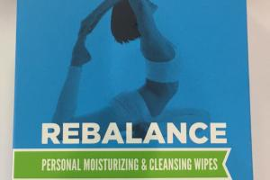 Rebalance Personal Moisturizing & Cleansing Wipes