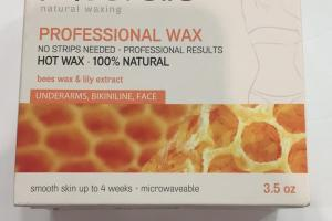 Bees Wax & Lily Extract Professional Wax