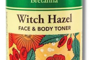 WITCH HAZEL FACE & BODY TONER INFUSED WITH GERANIUM & ROSEHIP SEED ESSENTIAL OILS & ALOE