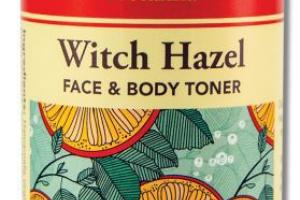 WITCH HAZEL FACE & BODY TONER INFUSED WITH CITRUS & SAGE ESSENTIAL OILS & ALOE