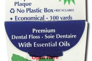 PREMIUM DENTAL FLOSS WITH ESSENTIAL OILS, MINT