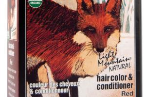 NATURAL HAIR COLOR & CONDITIONER, RED