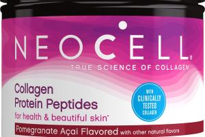 COLLAGEN PROTEIN PEPTIDES POMEGRANATE ACAI FLAVORED POWDER DIETARY SUPPLEMENT