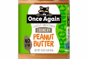 CRUNCHY LIGHTLY SWEETENED PEANUT BUTTER