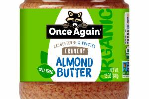 UNSWEETENED & ROASTED CRUNCHY ALMOND BUTTER
