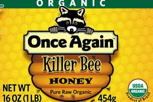 PURE RAW ORGANIC KILLER BEE HONEY