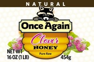 PURE RAW CLOVER HONEY