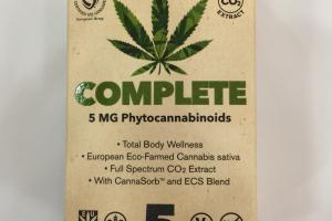 Complete 5 Mg Phytocannabinoids Dietary Supplement