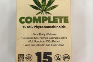 Complete 15 Mg Phytocannabinoids Dietary Supplement