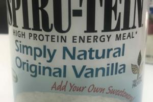 SWEETENED SPIRU-TEIN HIGH PROTEIN ENERGY MEAL ORIGINAL VANILLA