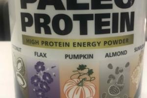PALEO HIGH PROTEIN ENERGY POWDER