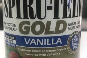 VANILLA SPIRU-TEIN GOLD POWDER