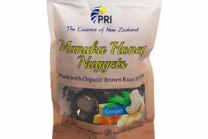 GINGER MANUKA HONEY NUGGETS