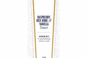 RASPBERRY RED WINE & VANILLA SAUCE
