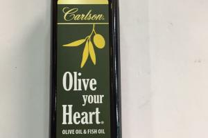 Olive Oil & Fish Oil Dietary Supplement