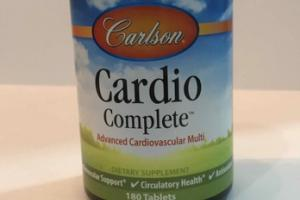 CARDIO COMPLETE ADVANCED CARDIOVASCULAR MULTI DIETARY SUPPLEMENT TABLETS