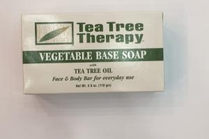 Vegetable Base Soap With Tea Tree Oil