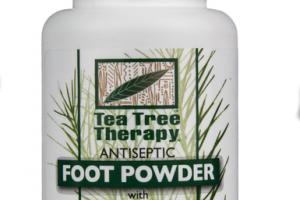 UNSCENTED ANTISEPTIC FOOT POWDER WITH TEA TREE OIL