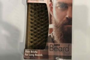 FIRM BRISTLE FOR LONG BEARDS