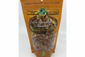 ORGANIC GO SPROUTED ALMONDS!