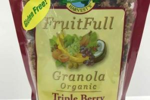 TRIPLE BERRY ORGANIC FRUITFULL GRANOLA
