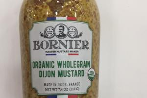 Organic Wholegrain Dijon Mustard