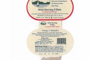 WILD HERRING FILLETS IN TOMATO BASIL SAUCE