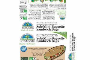 SUB/MINI-BAGUETTE SANDWICH BAGS