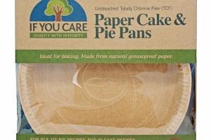PAPER CAKE & PIE PANS