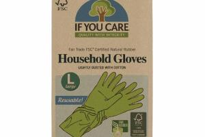 REUSABLE LARGE HOUSEHOLD GLOVES