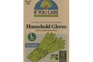 HOUSEHOLD GLOVES LIGHTLY DUSTED WITH COTTON
