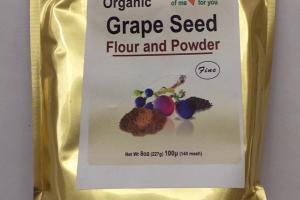 Organic Grape Seed Flour And Powder