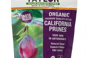 ORGANIC CALIFORNIA PRUNES