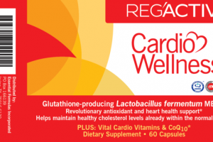 GLUTATHIONE-PRODUCING LACTOBACILLUS FERMENTUM ME-3 REVOLUTIONARY ANTIOXIDANT AND HEART HEALTH SUPPORT DIETARY SUPPLEMENT CAPSULES
