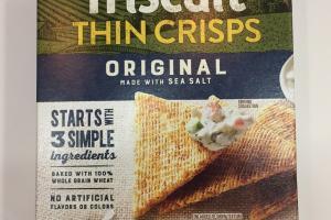 Organic Thin Crisps Crackers