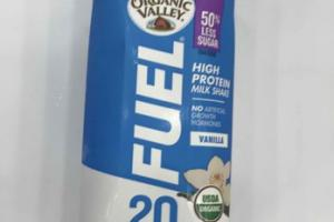 VANILLA FUEL HIGH PROTEIN MILK SHAKE