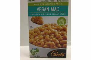 VEGAN MAC PASTA MEAL WITH RICE & CREAMY SAUCE