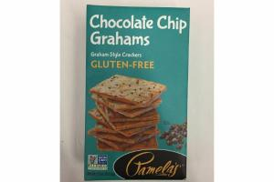 CHOCOLATE CHIP GLUTEN-FREE GRAHAM STYLE CRACKERS