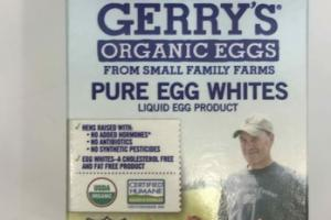 ORGANIC PURE EGGS WHITES
